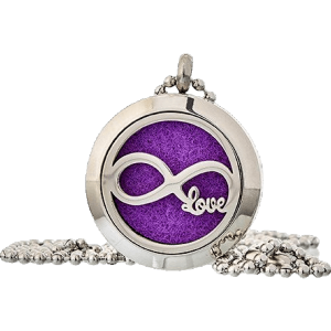 Infinity Love Aromatherapy Jewellery Necklace - 25mm